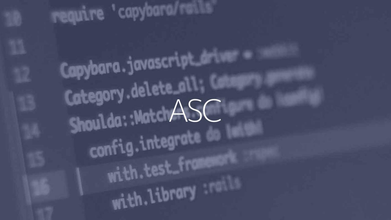ASC関数