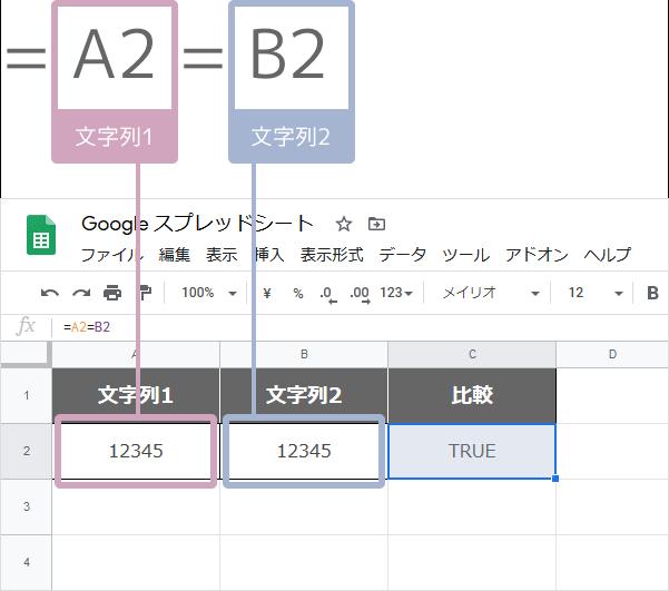 EQ関数の使い方(=で比較)