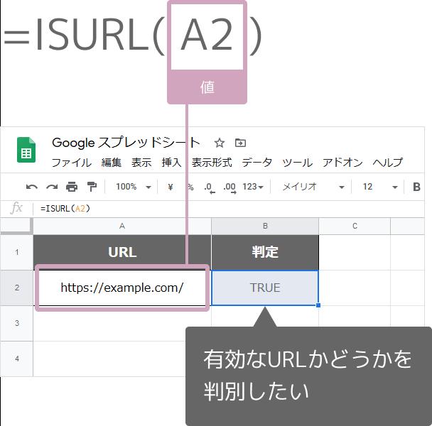 ISURL関数の使い方